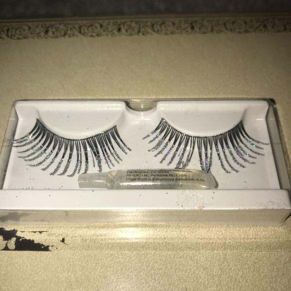 Makeup Glitter False Lashes Poshmark